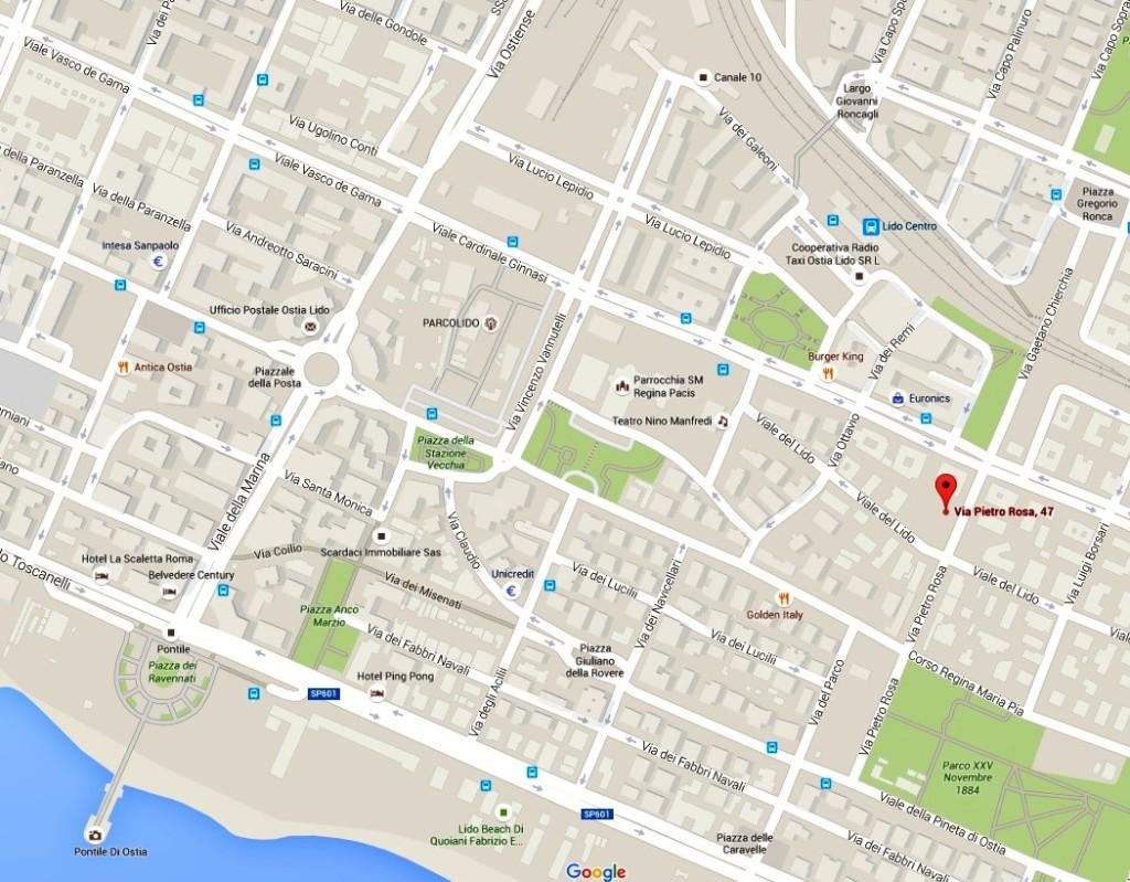 Mappa 'dove siamo'
