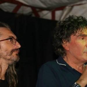 Stefano Michelazzi (FDM) e Stefano D'Orazio (Pooh)
